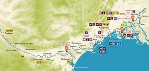 Camargue Karte.Hausbootferien In Der Camargue Frankreich Nicols Hausbootferien